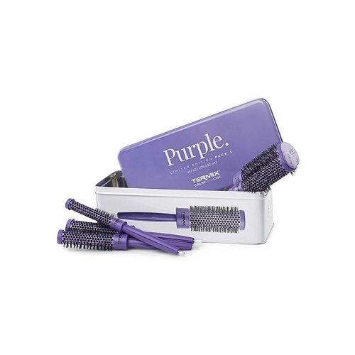 PACK 5 CEPILLOS TERMIX C-RAMIC COLOR PURPLE
