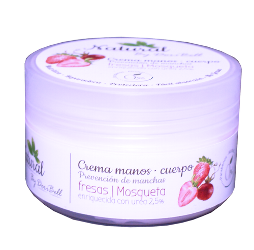CREMA DE MANOS DE FRESA 200ML By DoriBell