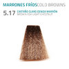 5.17 CASTAÑO CLARO CENIZA MARRÓN BROWN ASH LIGHT CHESTNUT