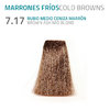 7.17 RUBIO MEDIO CENIZA MARRON BROWN ASH MID BLOND